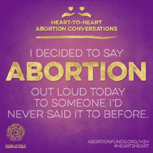 Heart-to-Heart Abortion Conversations